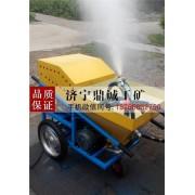 广东中山体育场塑胶跑道喷涂机 大型塑胶颗粒彩色颗粒喷涂机
