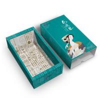 抽屉盒定制白板纸彩印纸盒免费设计