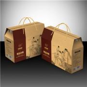 杂粮礼盒包装定做三层瓦楞纸礼盒免费设计