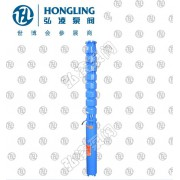 最小井径QJ型井用潜水电泵(深井泵)