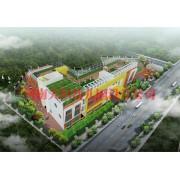 郑州正商地产4000㎡贝佳美国际幼儿园设计案例