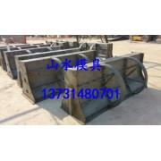 桥梁隔离墩钢模具 预制隔离带模具模板