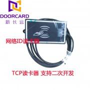 新长远网络门禁ID读卡器 带LCD显示屏读卡器 支持二次开发>alt=