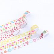 来图定制小清新水果、冰淇淋手工DIY装饰手帐胶带