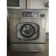 晋城市转让二手100公斤台布水洗机二手力净四辊烫平机出售