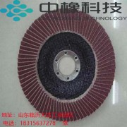 除锈打磨百叶片百叶轮塑壳抛光片砂布轮加厚平面抛光轮批发厂家