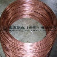 紫铜线 2.5mm软态红铜线高导电导热t2红铜线