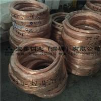 C1100紫铜线 无氧红铜丝1 1.2 1.5 1.6 1.8 2mm