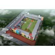 巩义幼儿园装修设计案例,巩义市回郭镇中心实验幼儿园