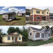 轻钢别墅生产厂家预制装配式房屋建筑工程度假村小木屋墅建造价