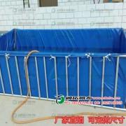 帆布游泳池好处-帆布游泳池生产厂-生产防渗防漏环保帆布