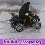 冰雪娱乐项目雪地卡丁车无级变速游乐卡丁车汽油卡丁车