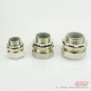 包塑金属软管接头/蛇皮管箱接头/外丝内牙金属接头非标订制