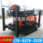 鲁探供应FY260履带式气动打井机钻井机 高效率气动钻机