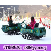 研发设计技术支持于一体雪地坦克车 大型越野坦克车 履带式坦克