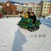 信誉卓著 质量保证的雪地游乐设备 雪地坦克车 履带式滑雪车
