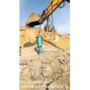 庆阳市快速爆破开采石材液压劈裂机设备