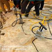 柱式分裂棒是一种新型的孔内柱式液压分裂器