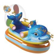 儿童乐园哪里好玩?首选共享世界奇幻漂流室内儿童漂流体验项目!