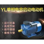 上海左力YL90S-4双电容单相电动机