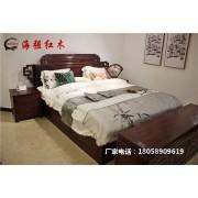 红木家具床_东阳红木床