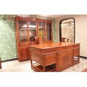 红木书桌_
