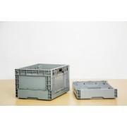 苏州迅盛折叠箱内倒式折叠箱S603塑料箱生产批发