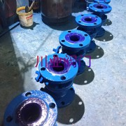 电动调节搪瓷球阀 Q941TC-10