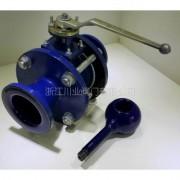 耐强酸搪瓷球阀 Q41TC-10