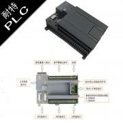 耐特提升机自控系统CPU224XPRLY模拟量2入1出PLC