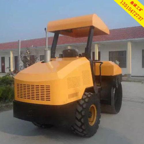 在广东广州用的单钢轮4吨压路机 单轮振动压实机