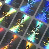 生产激光防伪标镭射贴发光防伪标签激光防伪标签加工全息防伪商标