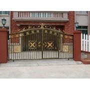 天津铁艺门窗厂,定做各种铁艺电动门,铁艺大门