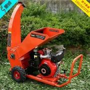 13HP秸秆枝条粗大树枝树叶粉碎机 园林专用电启动柴油机