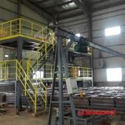 湖南自动水泥发泡保温板生产线设备 打块速度快