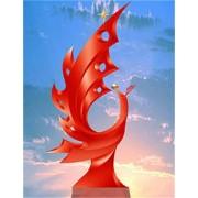 不锈钢雕塑@沈阳艺术不锈钢雕塑造型生产厂家