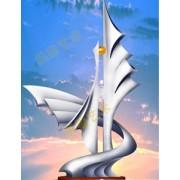 不锈钢雕塑@丹东艺术不锈钢雕塑造型生产厂家