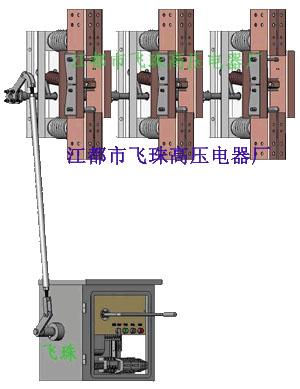 GN22-12/6300A大电流电动隔离开关