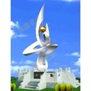 不锈钢雕塑@庄河艺术不锈钢雕塑造型生产厂家