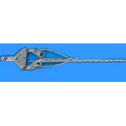 供应全国预绞丝式电力导线用普通双耐张线夹山东富华电力器材