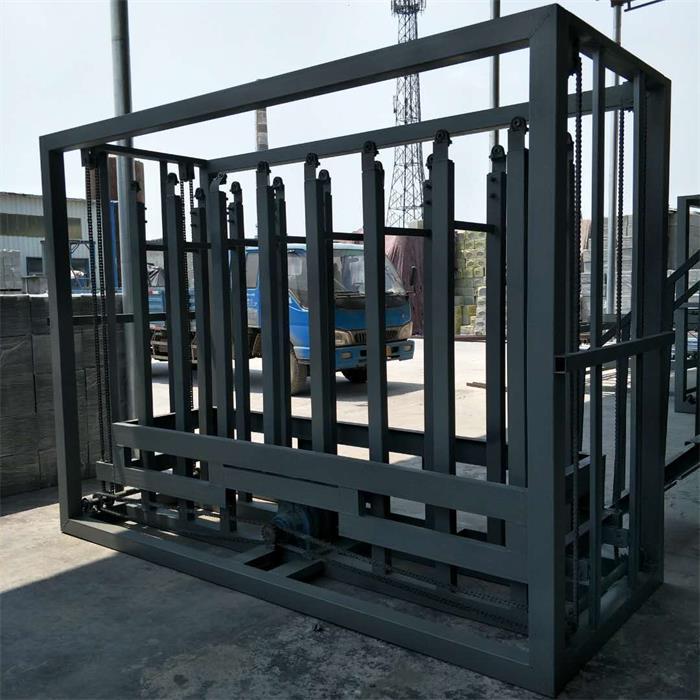 1.2米聚苯颗粒复合板生产线 自动码垛运行平稳