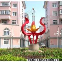 不锈钢雕塑@桦甸艺术不锈钢雕塑造型生产厂家