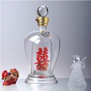 玻璃工艺酒瓶,酒瓶生产厂家,永鑫玻璃酒瓶厂家定制