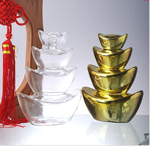 河间玻璃工艺酒瓶,定制白酒瓶,高硼硅玻璃酒瓶