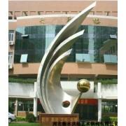 白钢雕塑@龙井白钢景观艺术造型雕塑生产厂家