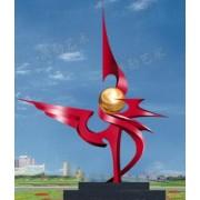 白钢雕塑@珲春白钢景观艺术造型雕塑生产厂家