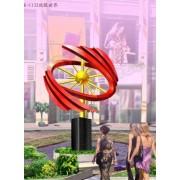 白钢雕塑@哈尔滨白钢景观艺术造型雕塑生产厂家