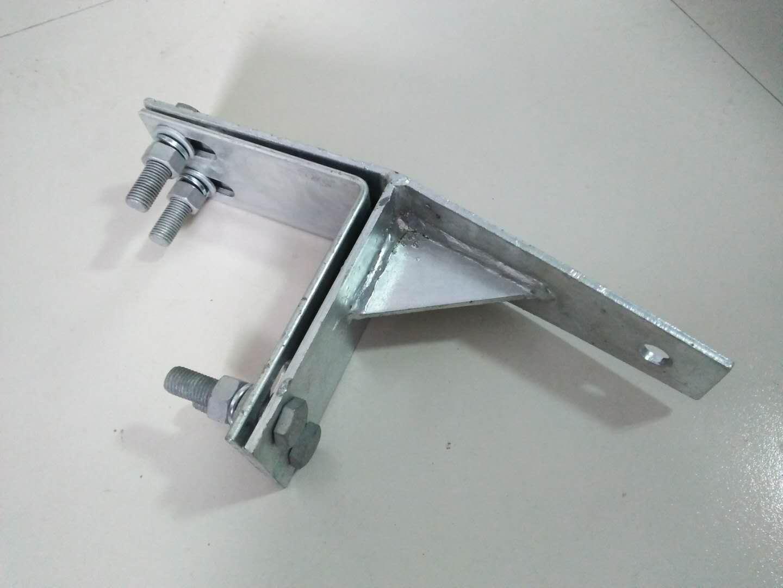 供应全国架空光缆/线缆连续直线塔用紧固夹具非耐张型