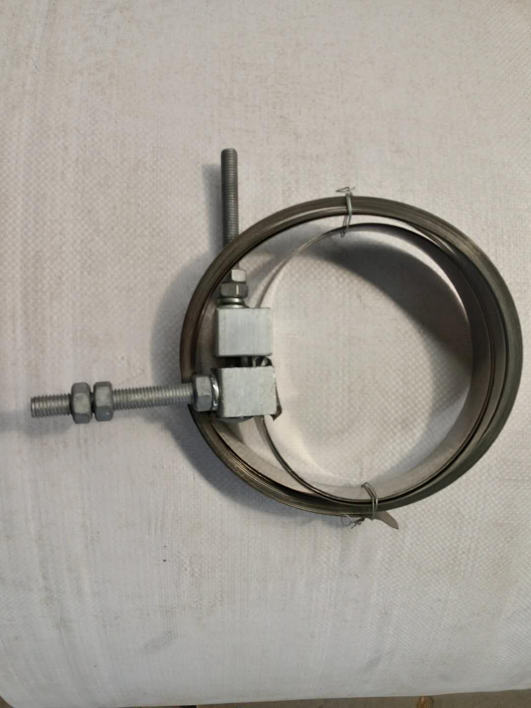 供应全国线杆用不锈钢带抱箍
