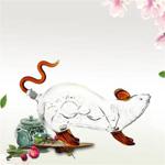 高硼硅玻璃酒瓶|动物造型酒瓶|河北玻璃酒瓶厂家定做